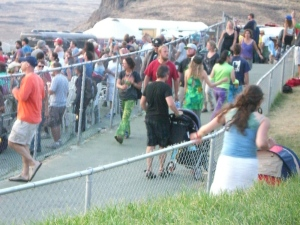 Strollers at a Phish Show